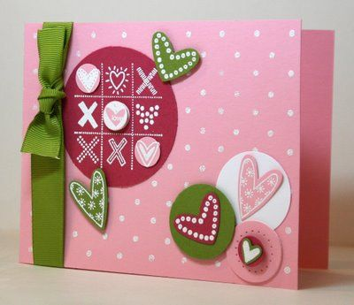 Stampin' Up! Valenitne  Krystal De Leeuw at Krystal's Cards and More: 2008