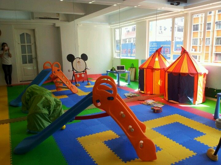 Indoor Playground For Babies Daycare Garage