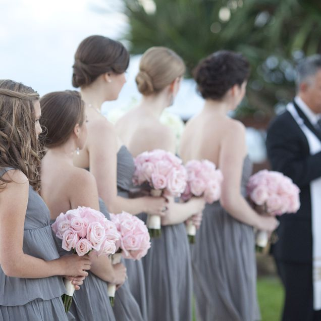 Light grey bridesmaid dresses with pink flowers fashion dresses light grey bridesmaid dresses with pink flowers mightylinksfo