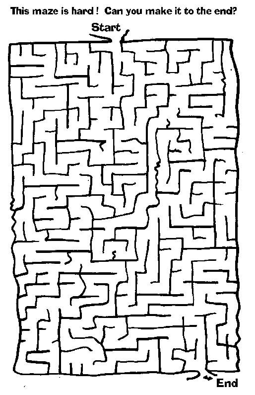 free printable mazes  easy medium hard  no sign up no ads just free simple print