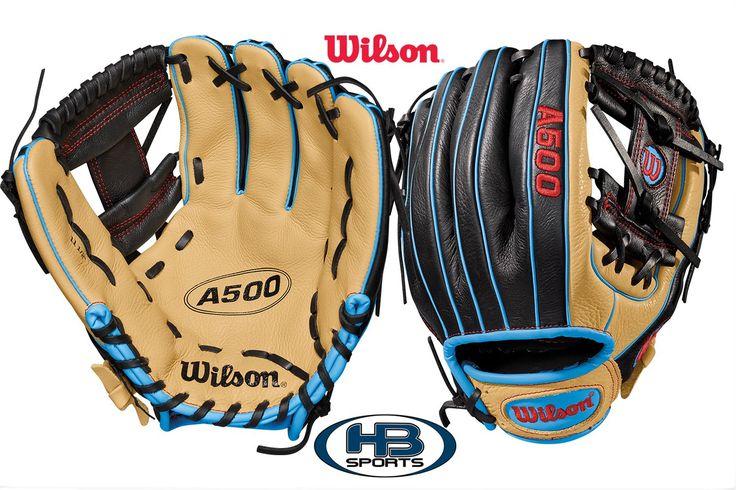 "Wilson A500 11.5"" Youth Baseball Glove: WTA05RB18115"