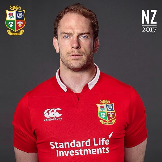Six successive Lions Test appearances, a third Tour selection and captain of Wales - welcome back Lion #761 Alun Wyn Jones #AllForOne #LionsNZ2017 #Lions #LionsRugby #Rugby #Rugbygram