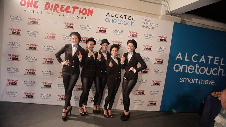 """Así se vivieron los momentos ONETOUCH en el concierto de ONE DIRECTION, el pasado 27 de Abril en Perú. ALCATEL ONETOUCH, Tour Presenting Sponsor de la Gira """"Where We Are Tour 2014"""" haciendo cada día más, tus sueños realidad."""