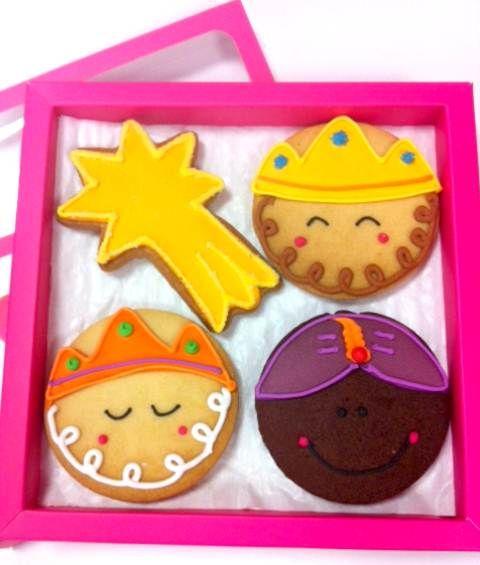 Reyes y estrella de navidad (NAREE01)