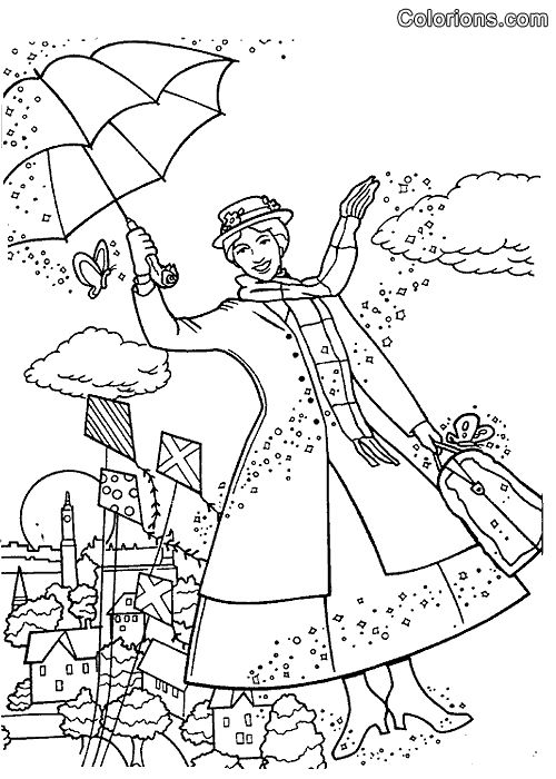 28 best Mary Poppins Tea Party images on Pinterest | Coloring ...