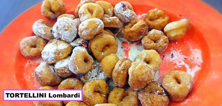 TORTELLINI fritti Lombardia Uno fra i tanti dolci tradizionali italiani preparati durante il CARNEVALE