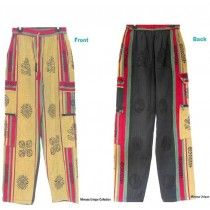 Nepalese Cotton Trouser | Block Printed Funky Trouser