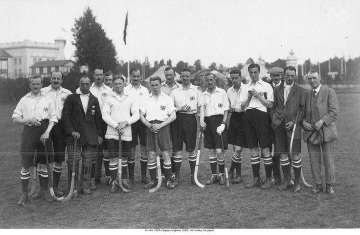 Team GB Hockey team at the 1920 Olympic Games in Antwerp http://www.teamgb.com/games/antwerp-1920