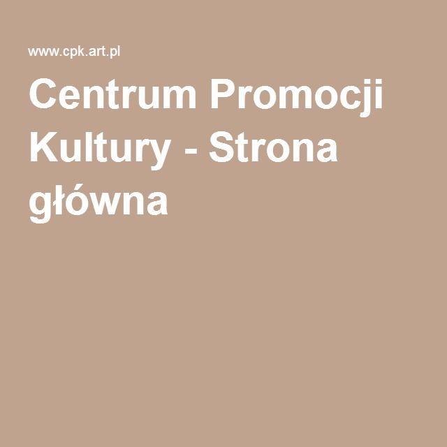 Centrum Promocji Kultury - Strona główna