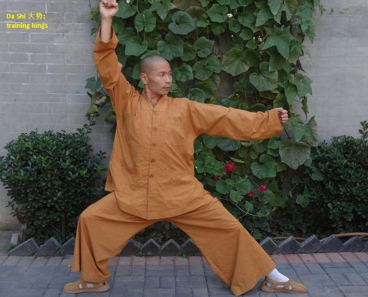 MEIHUA QUAN static position number 1: Da Shi. Practice MeiHua Quan under the guidance of Shifu Shi Yan Jun, 17th Disciple of MeiHua Quan and Vice President of MeiHua Quan Association China, Vice President of International Federation of MeiHua Quan and Xingtai University Professor.