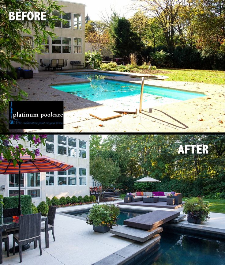 Swimming pool renovation Before and After in Highland Park, IL by Platinum Poolcare. Phone 847-537-2525 platinumpoolcare.com www.facebook.com/... www.houzz.com/... plus.google.com/... www.linkedin.com/.... twitter.com/... by Outvision Photography.
