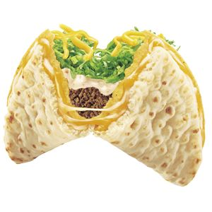 Cheesy Gordita Crunch - the best Taco Bell item ever.