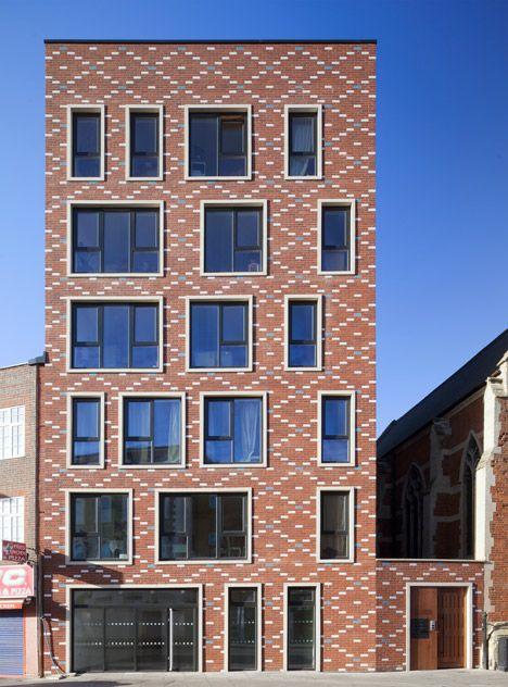 Matthew Lloyd Builds Decorative Brick Homes Around A London Church