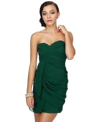 17 Best ideas about Hunter Green Dresses on Pinterest | Green ...