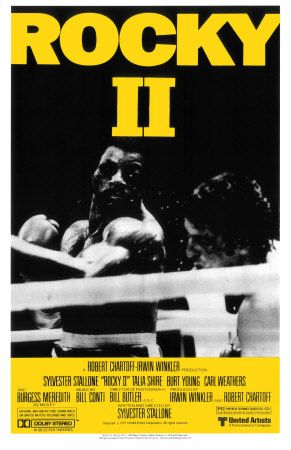 Rocky II. This is a decent followup to the original. It actually takes up right after the first movie. As with most of the Rocky movies it ends with a big fight. Will this one turn out different from the first.
