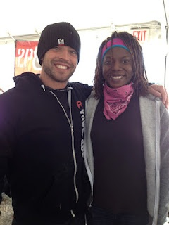 My friend Shaunna and Rich Froning at Garage Games One!  Tons of people from my box (CrossFit Music City) were down there to represent! Also, Paleo Bison Chili... (need to get the recipe for that!)