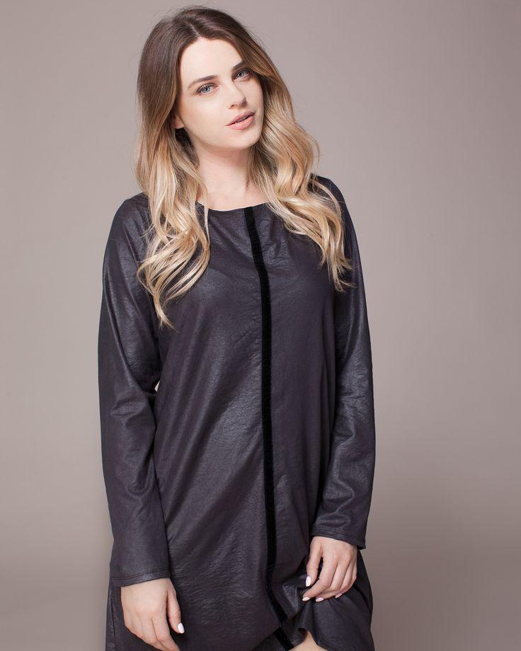 A Beautiful Leather Like Dress