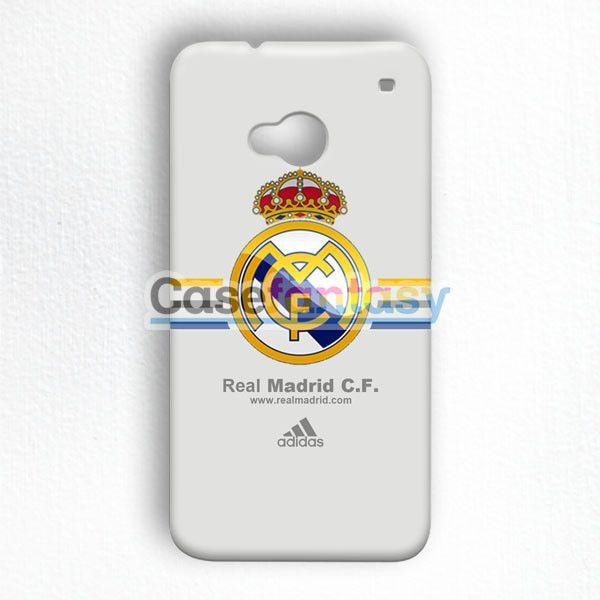 Real Madrid Club De Fútbol La Liga Spanyol Logo HTC One M7 Case | casefantasy