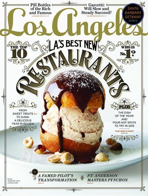 Best New Restaurants, Los Angeles magazine (via Cover Junkie).