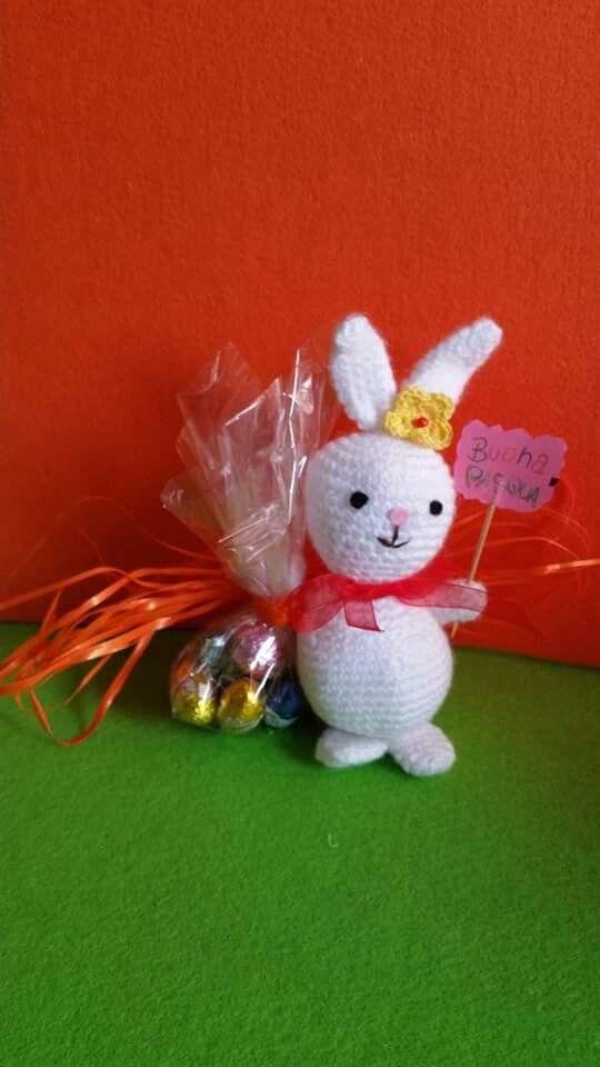 La Compagnia delle Arti vi presenta la coniglietta Pasqualina!!!!