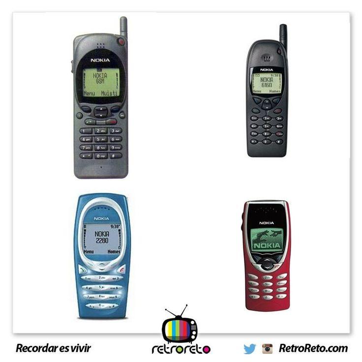 Levanta las manos si tu primer celular fue un Nokia \o/ RetroReto.com