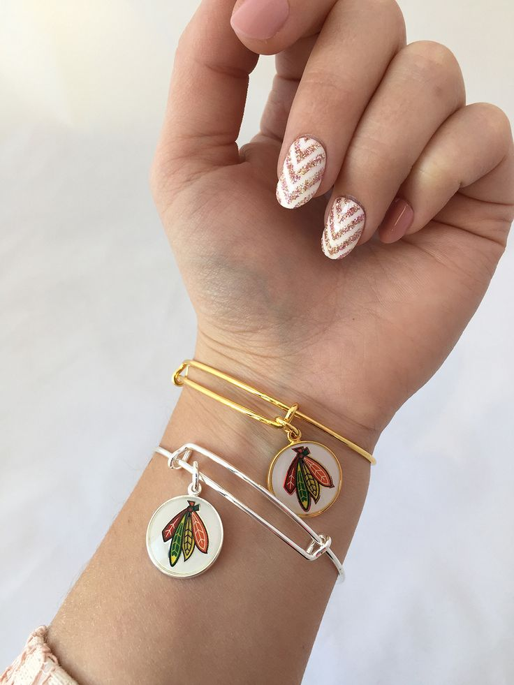 Looking for a new accessory this spring? Stop by the Blackhawks Store to check out our latest Alex and Ani bangles!