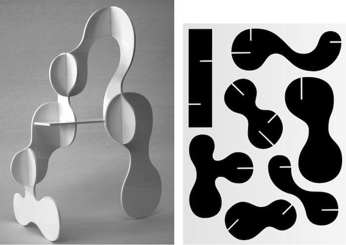 Goblin & Ghost, light object (2011) / Jean, skeleton (2011)by Karl Nawrot & Walter Wartonvia void()