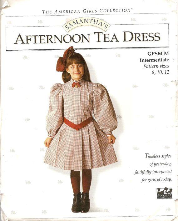 If you have any weird accessories or AG products, they may also be worth money. Like this simple dress pattern is on Etsy for $125! | How Much Is An Original American Girl Doll Worth?