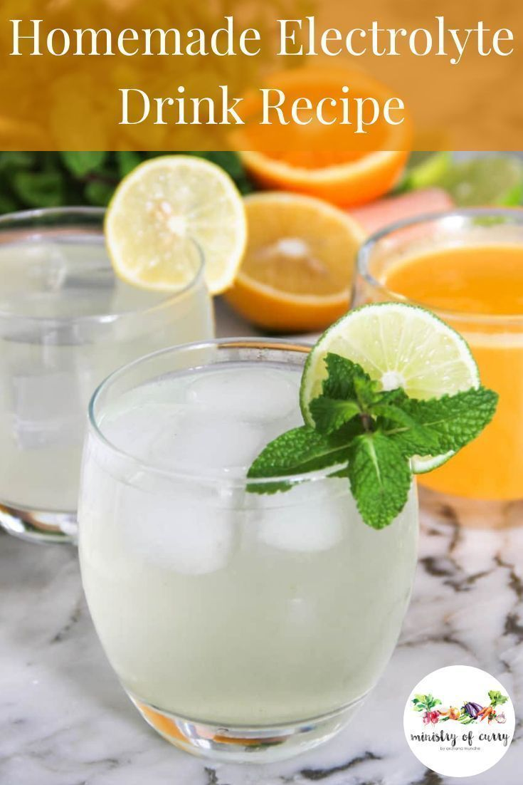 Homemade Electrolyte Drink With Flavoring Options Recipe Electrolyte Drink Homemade Electrolyte Drink Drinks