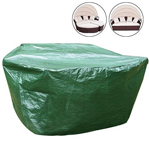 Schützen Sie Ihre Gartenmöbel vor Wind, Sturm, Sonne, Regen und Frost. Diese WOLTU Schutzhülle bietet Gartenmöbel Schutz vor Schmutz, Staub, Pollen und anderen witterungseinflüssen. Die Abdeckhaube ist hergestellt aus stabilem...