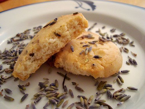 Gosh, just made these Honey Lavender Shortbread cookies tonight with my son, and they are AMAZING