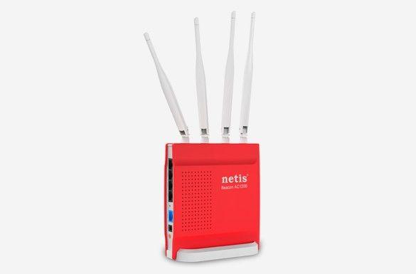 NETIS Router gamingowy DSL WiFi AC/1200 Dual Band + 1GB LANx4