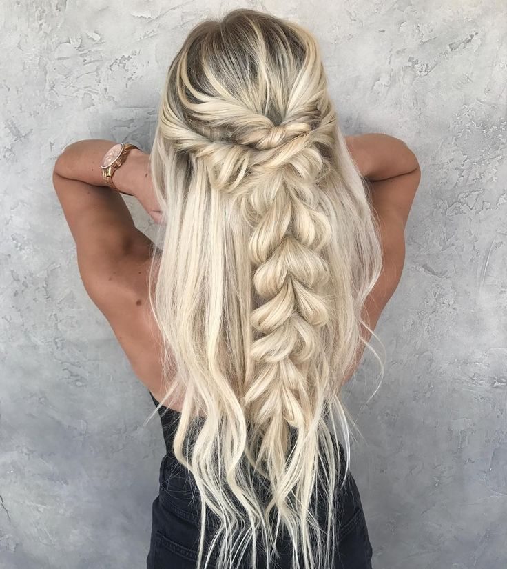 """1,646 Likes, 11 Comments - Braids & Bridal (@taylor_lamb_hair) on Instagram: """"Weekend ready✔️ + @juliacooley"""""""