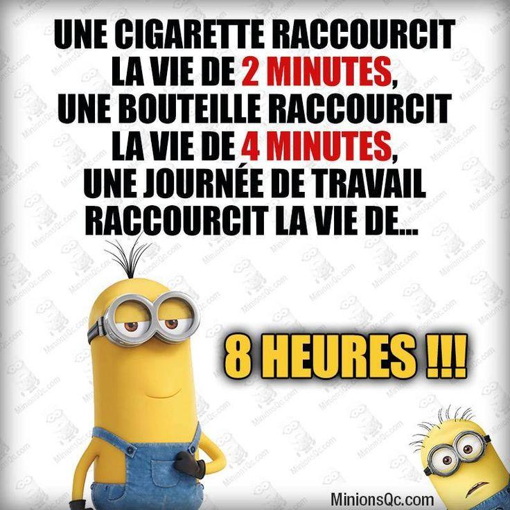 1 cigarette raccourcit la vie de 2mn dr le de minion for Blague de la chaise