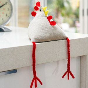 Sew a fat hen from the Country Living Magazine website!