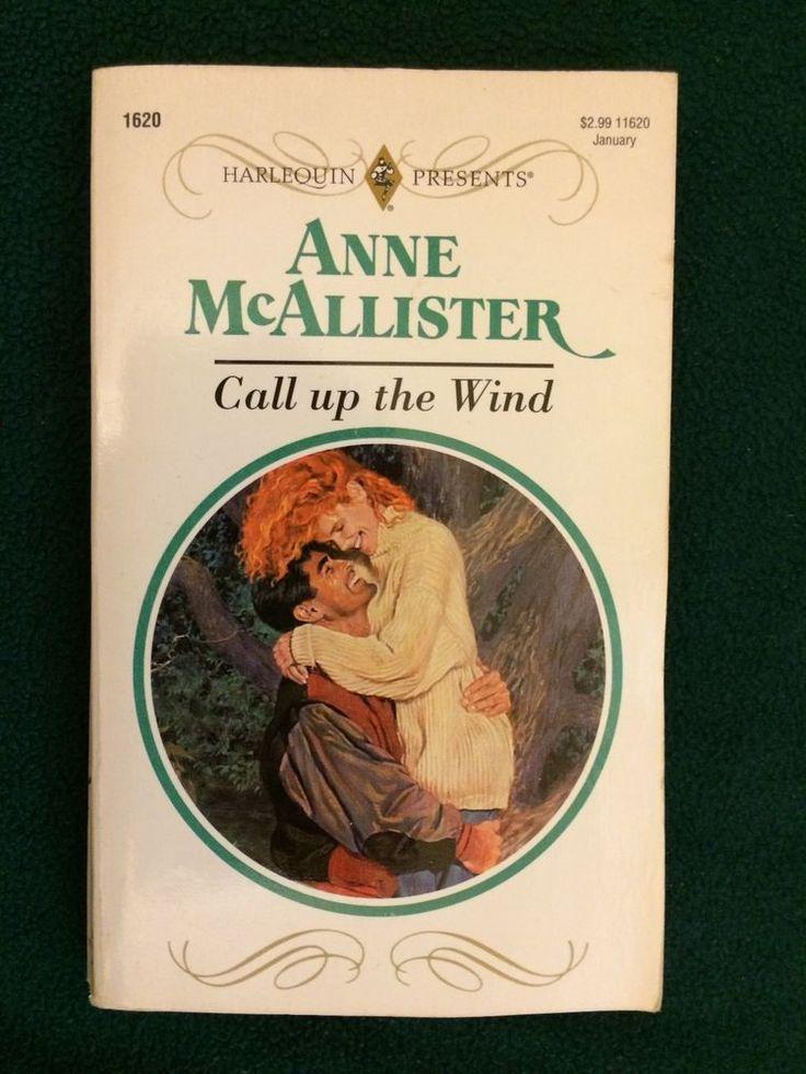Vintage Call Up The Wind Anne McAllister Paperback Book Harlequin Romance Novel  | eBay
