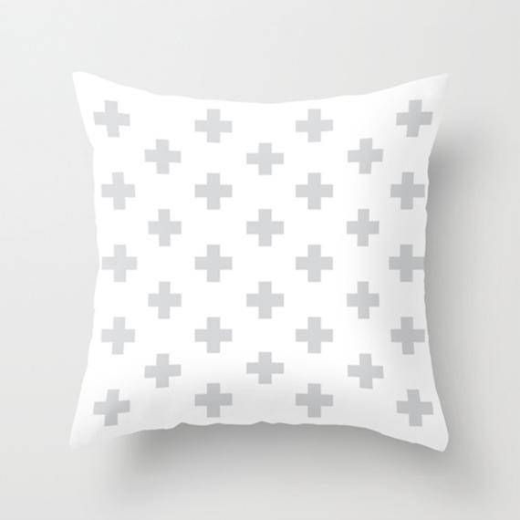 scandinavian cushion scandinavian modern swiss cross