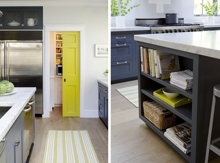 stephmodo gorgeous gray kitchen with yellow accents - Gray And Yellow Kitchen Ideas