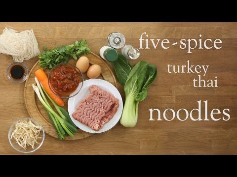 Five-spice turkey Thai noodles - Recipes - Slimming World