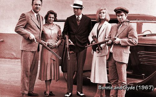 Wallpaper of Bonnie and Clyde 1967 for fans of Movies. (google search: bonnie and clyde)