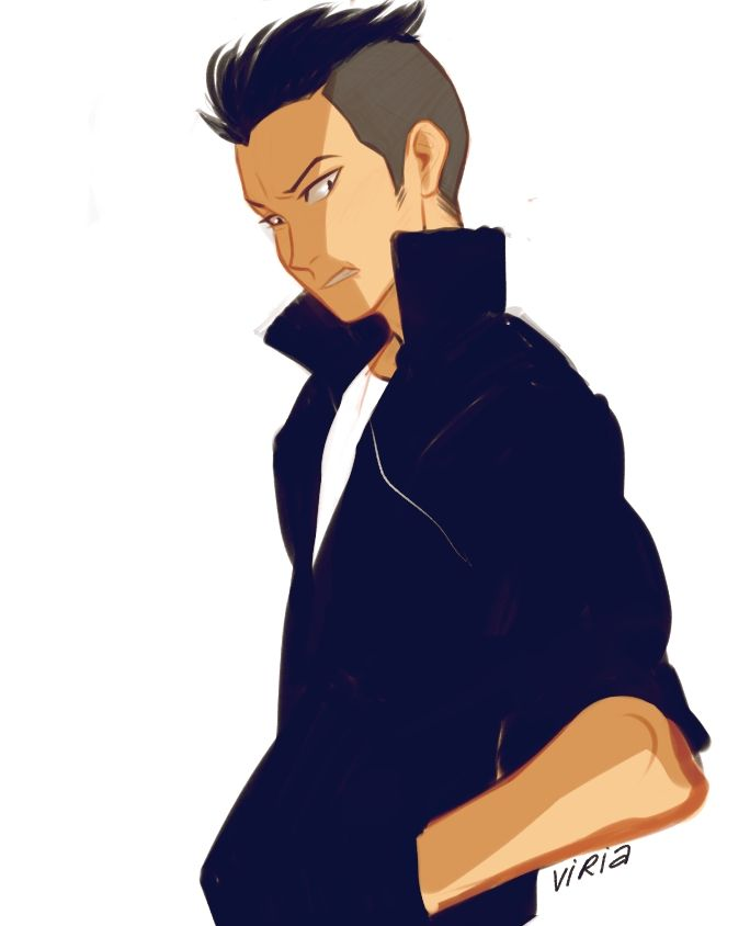 YAS I LOVE TANAKA WITH HIS HAIR LIKE THIS