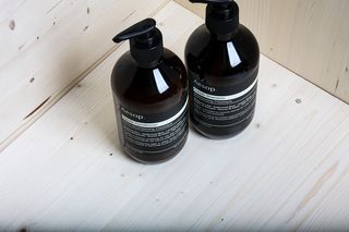 Aesop Shampoo and Conditioner #aesop #naturalhaircare