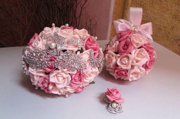 Kit Bouquet Di Capri rosa & pink I