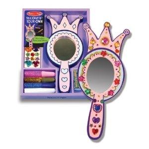 Melissa & Doug - Verschönere Deinen Prinzessinnen- Handspiegel: Amazon.de: Spielzeug