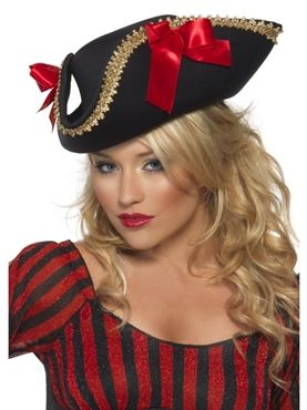 Fever Pirate Hat by Fancy Dress Ball