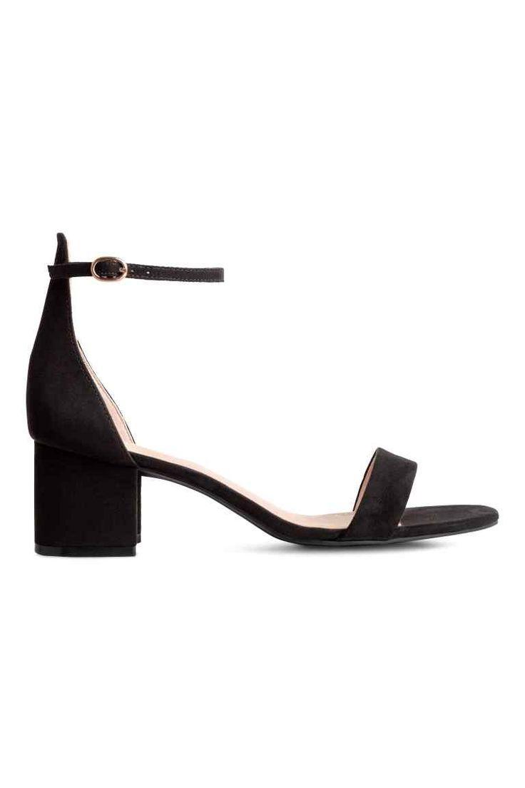 Sandales avec bride - Noir - FEMME | H&M FR