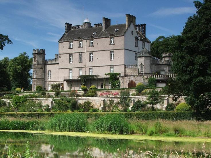 Winton House In East Lothian Near Edinburgh Is Still Something Of A Well Kept Secret As It Hosts Only 12 Weddings Per Year Thus Maintaining