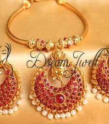 Buy GORGEOUS GANESHA BALI KEMP NECKLACE SET necklace-set online