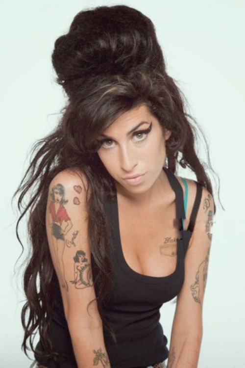 Amy Winehouse beautiful even without a smile