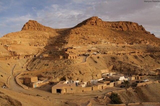 Tataouine. Chenini., Sahara, Konkurs, TUNEZJA